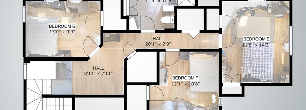 4th Floor Floorplan