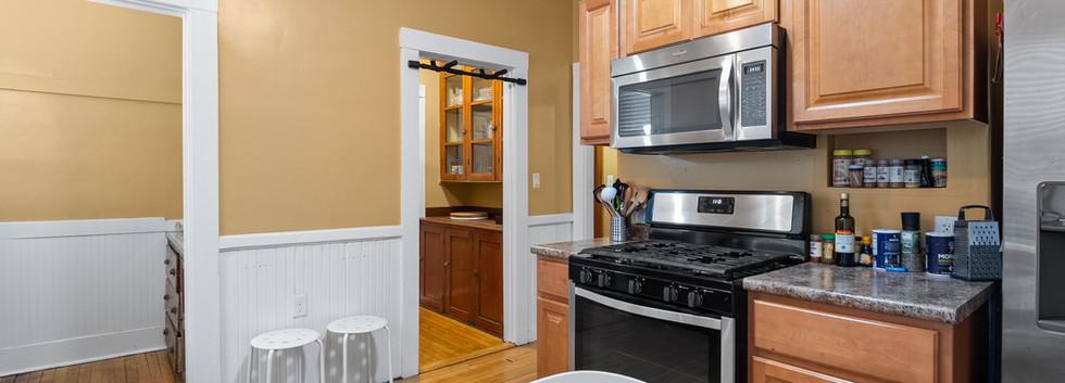 Kitchen @ 54 Chester Unit 1