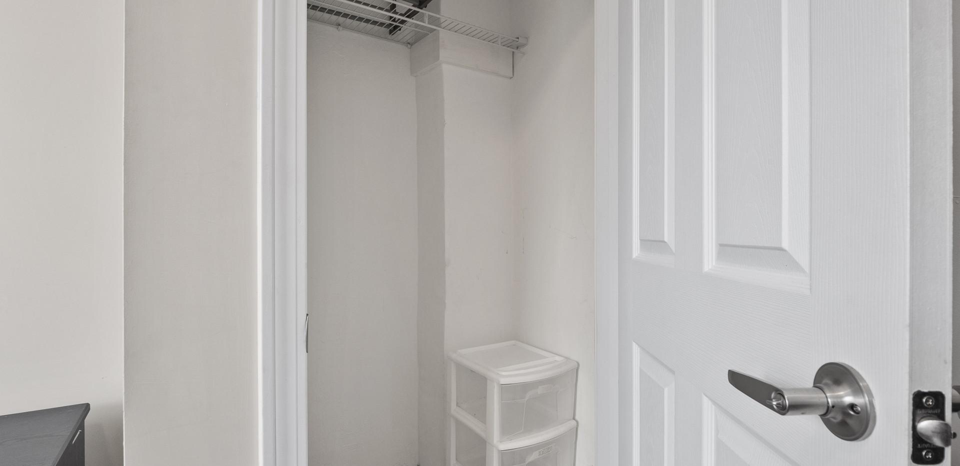 Bedroom B Closet at 32 Shelby Unit 2
