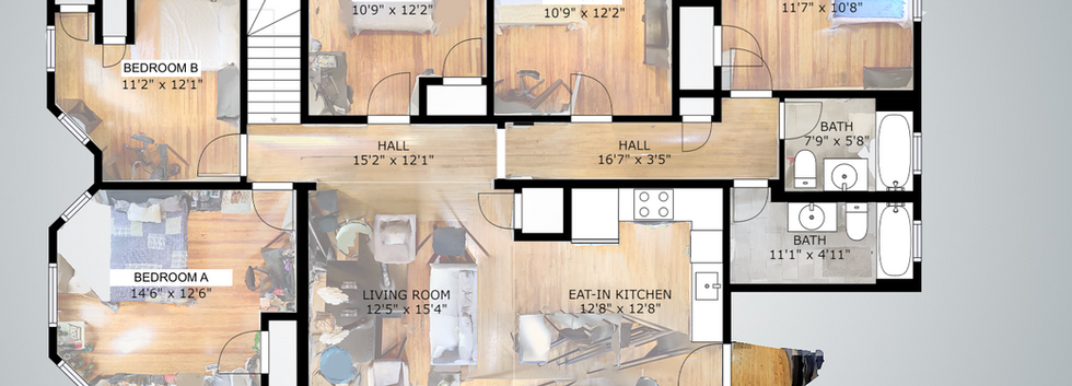 Floorplan @ 139 Adams Street #3