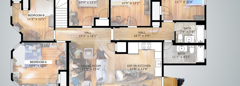 Floorplan @ 139 Adams Street #3