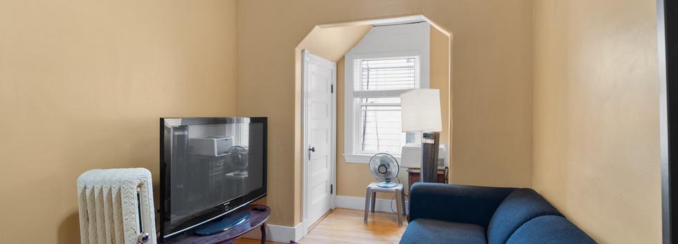 Living Room @ 54 Chester Unit 1