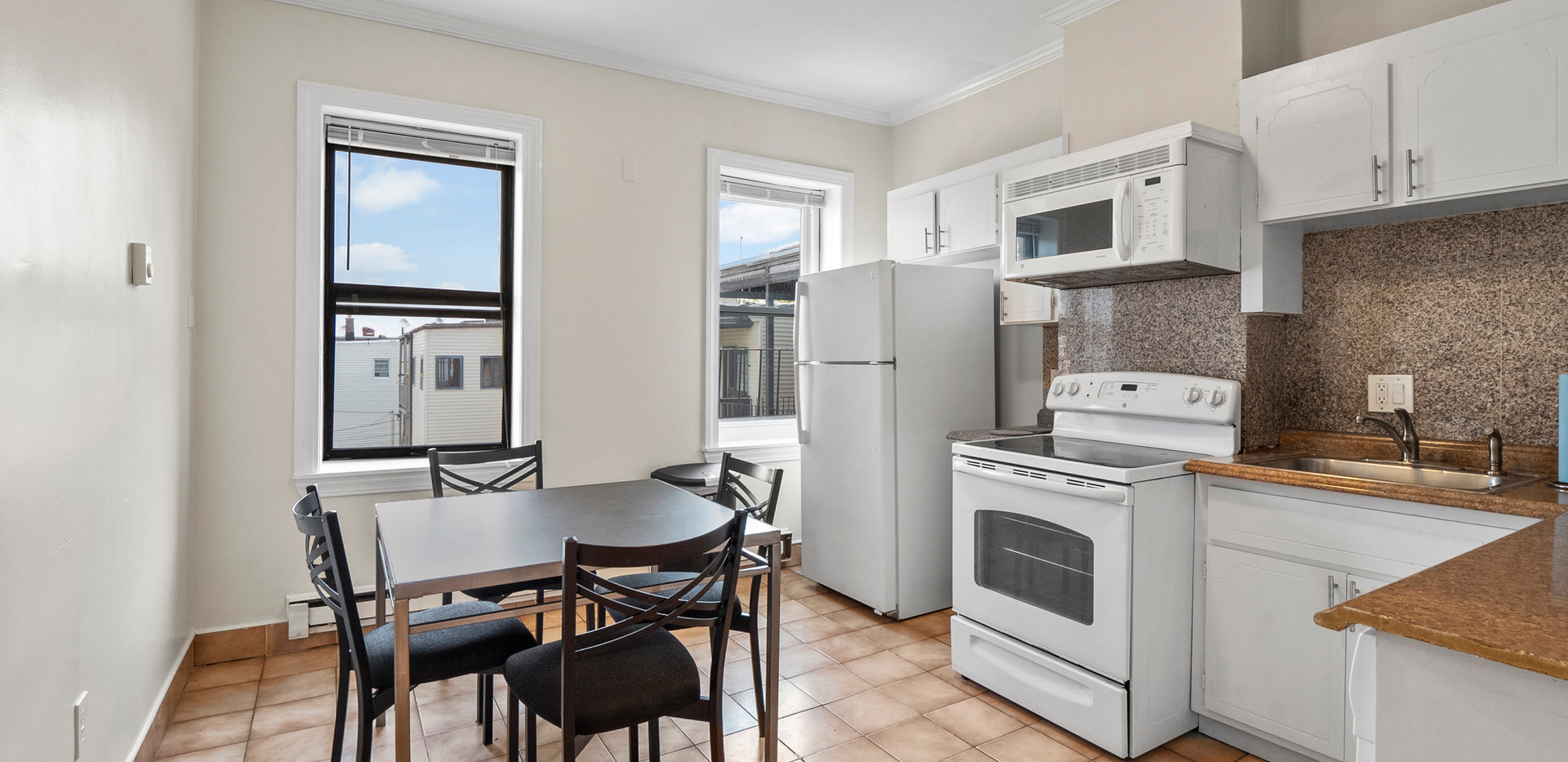 Kitchen at 32 Shelby Street Unit 3