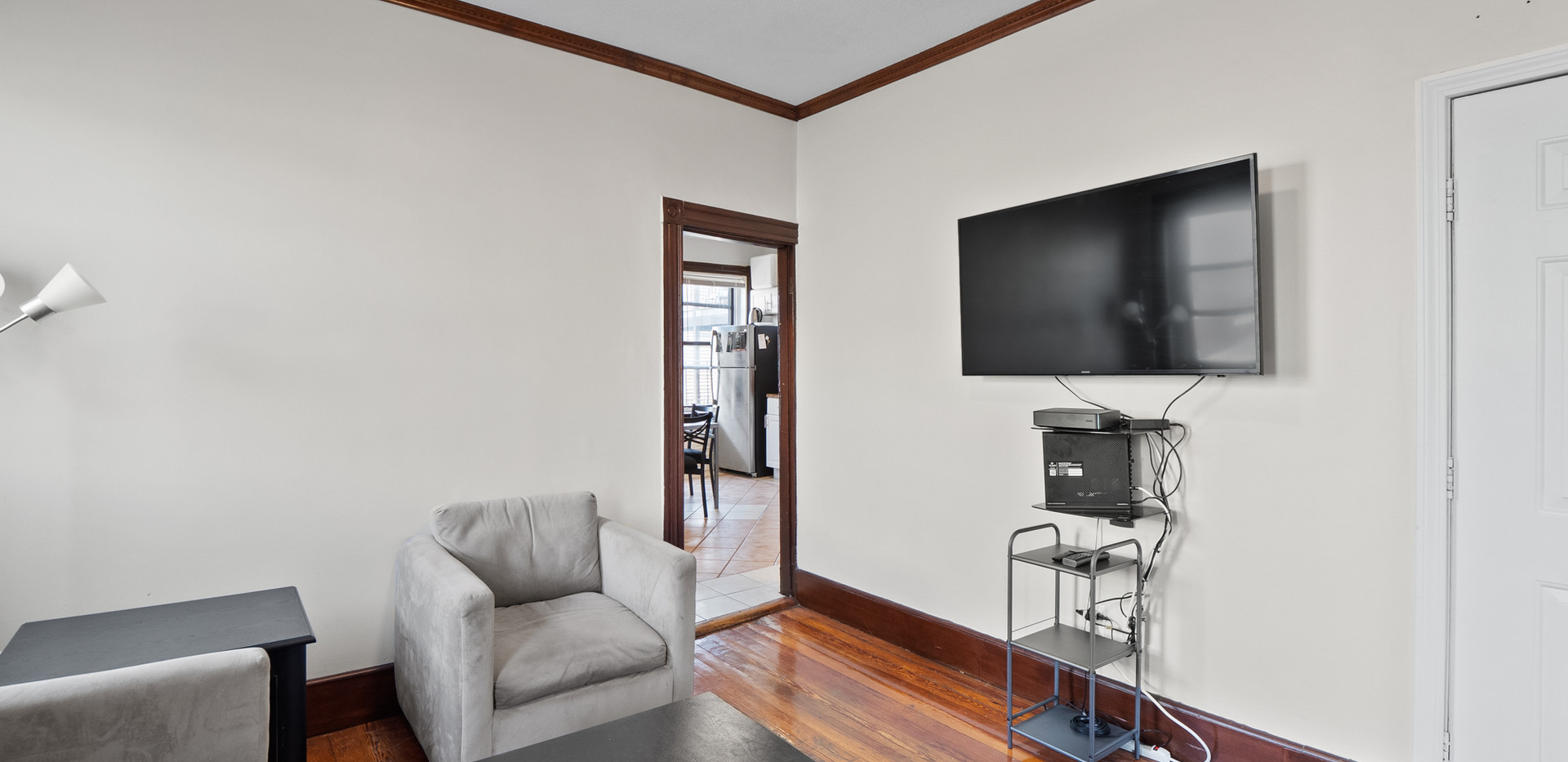 Living Room at 32 Shelby Unit 2