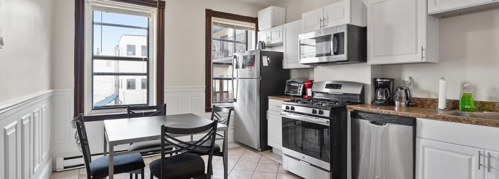 Kitchen at 32 Shelby Unit 2