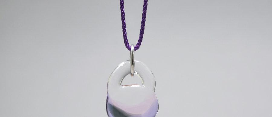 Unikat Anhänger mit Farbverlauf | OOAK glass pendant