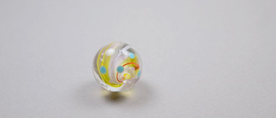 Murmel-Perle | Colorful focal bead