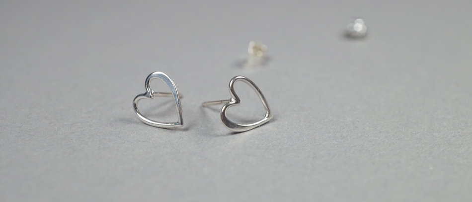 Silberohrringe | Sterling silver studs