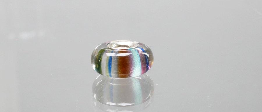 Perle mit Streifen | Glass charm