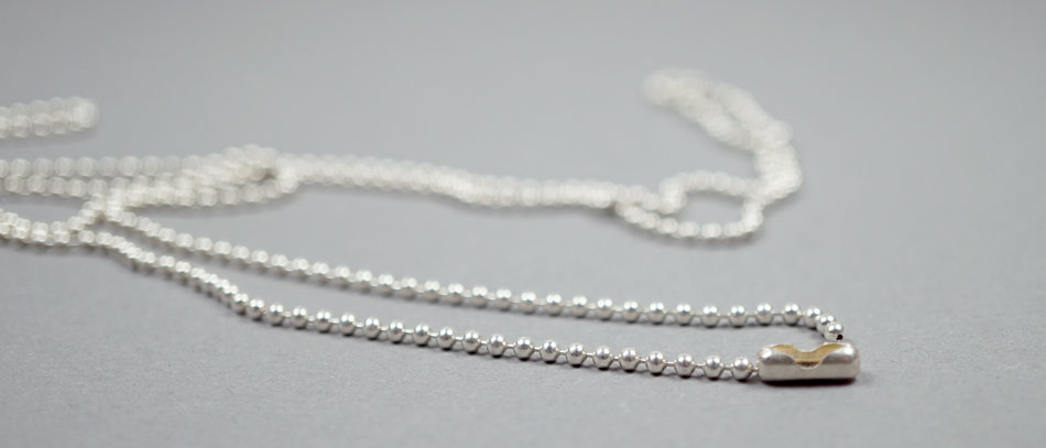 Sterling Silber Kette | Ball chain sterling silver – 70cm