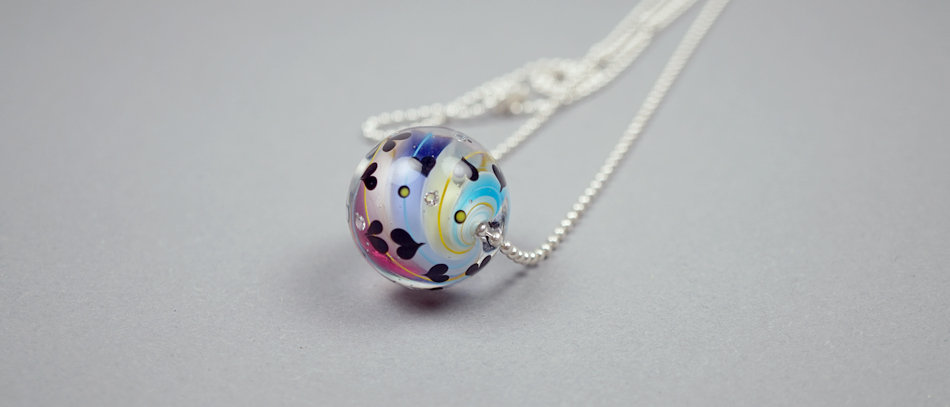 Murmelperle | Marble bead