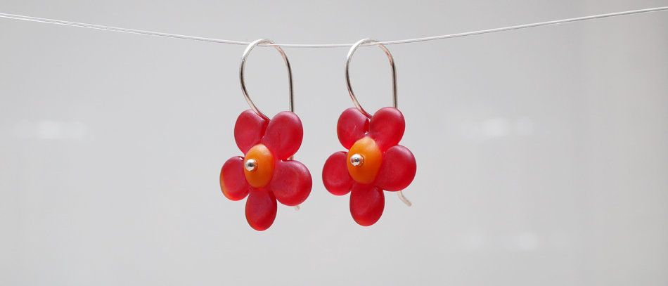 Blumen Ohrringe | Flower earrings