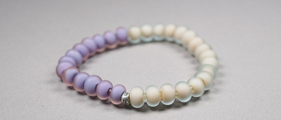 Glasperlen Armband | Glass bead bracelet