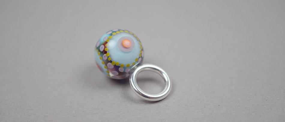 Kleiner Anhänger | Glass bead pendant