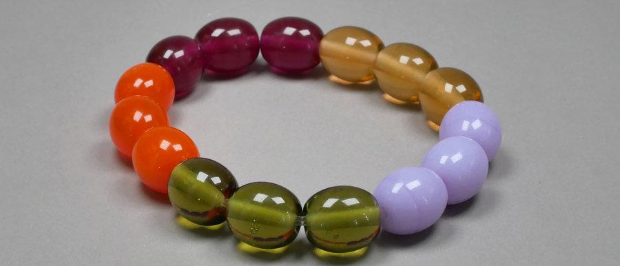"Armband ""Hoop"" |Stretch Bracelet"