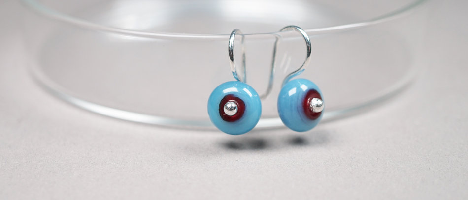 Ohrringe aus Muranoglas | OOAK Earrings