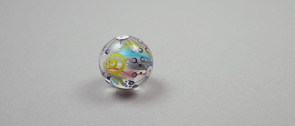 Murmel-Perle | Marble bead