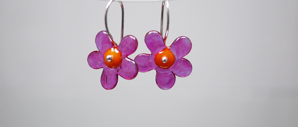 Blumen Ohrringe | Flower earrings