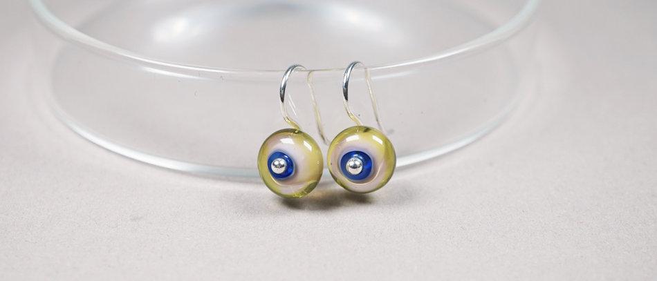 Glas Ohrringe | Glass earrings