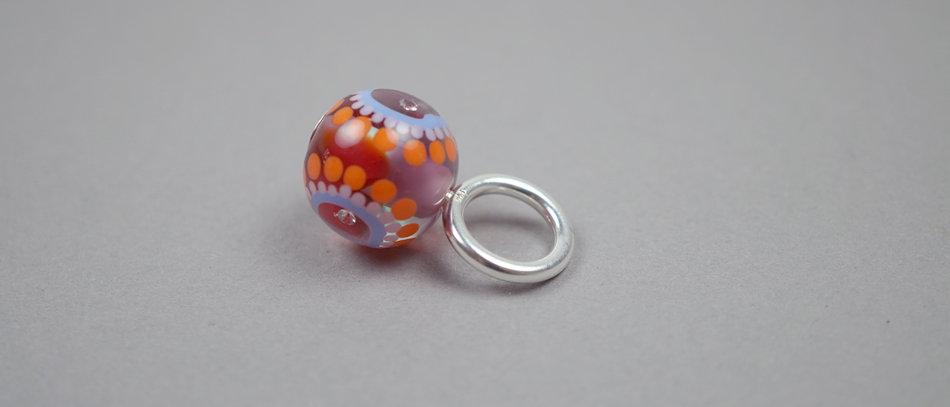 Anhänger | Glass bead pendant