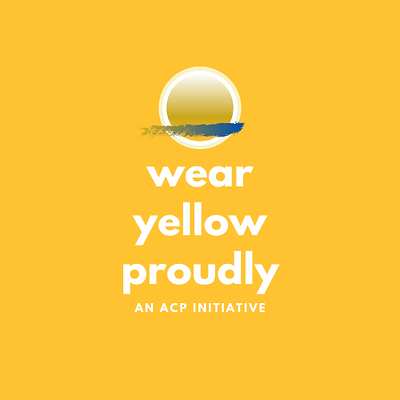 Wear Yellow Proudly