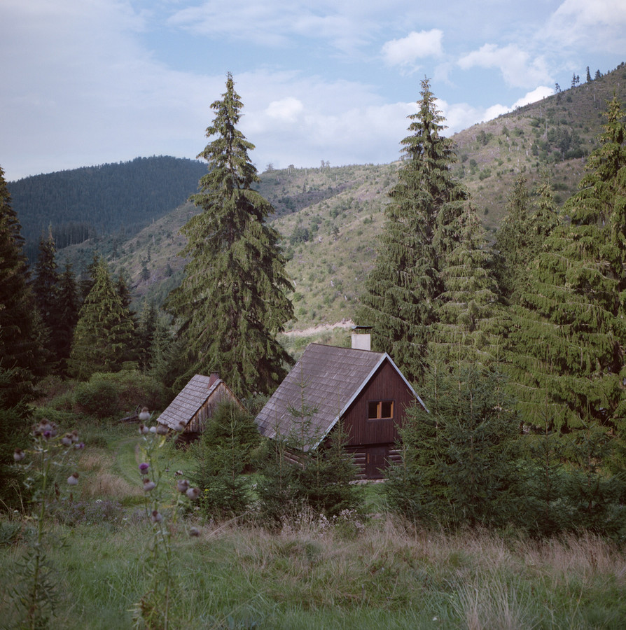 Cabins in the High Tatras