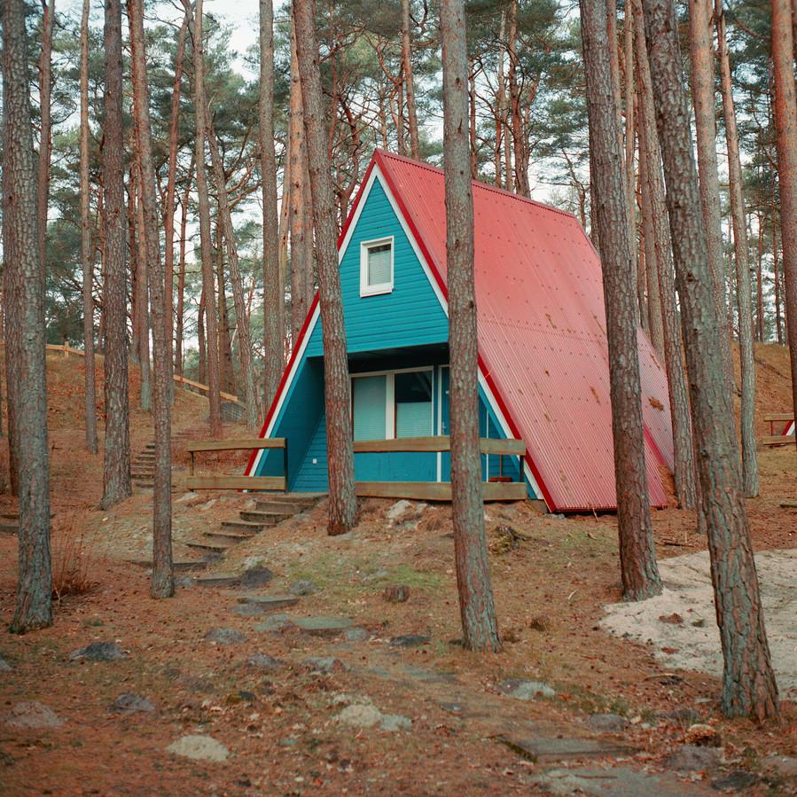 Cabin near the Baltic coast