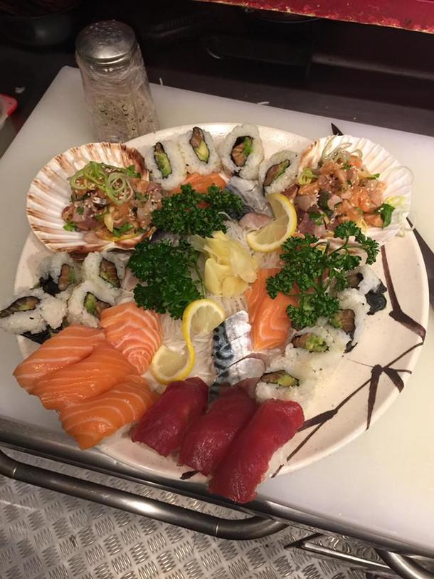 Assortiment des sushis