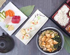 carte restaurant minori japonais sushi brochettes bento