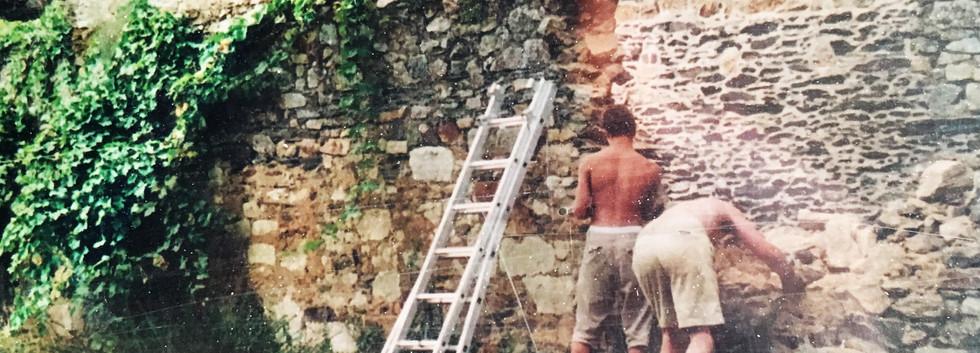 Démontage du mur 2003