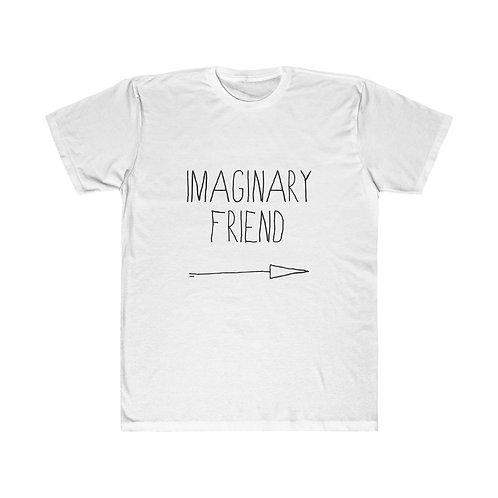 'IMAGINARY FRIEND' Unisex Fitted Tee