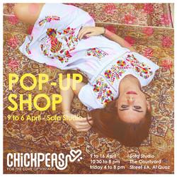 Chickpeas Pop-up Visual