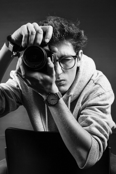 Studio Self Portrait