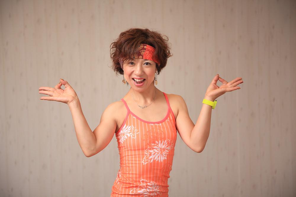 鈴木智香子,studio ohana FITNESS,名古屋,瑞穂区,ジム,Masala Bhangra & TRX,