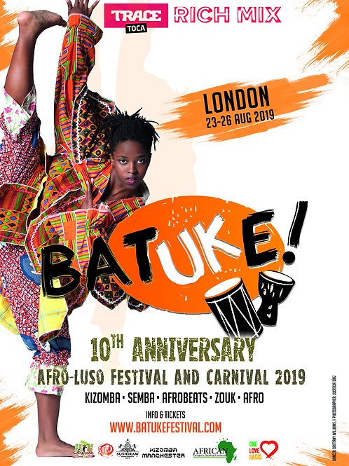 BATUKE! float 2019 @ Notting Hill Carnival parade