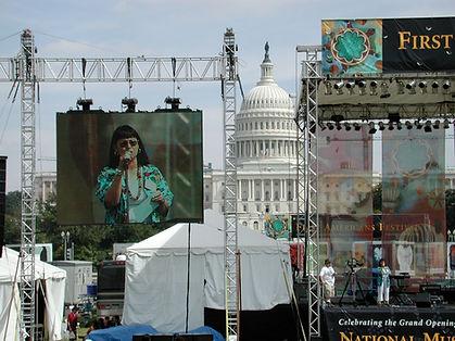 Liz Emcee at First Americans Festival.jp