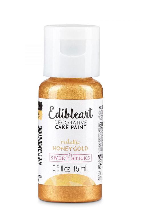 Metallic Honey Gold