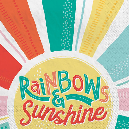 Rainbows & Sunshine Lunch Napkins