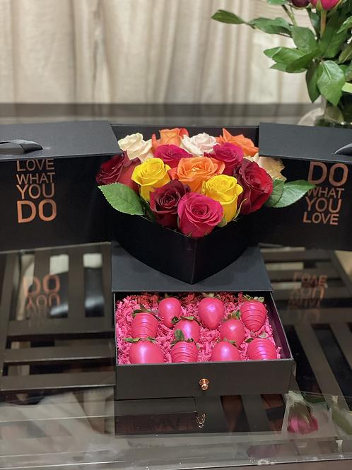 Premium Luxe Berry Box