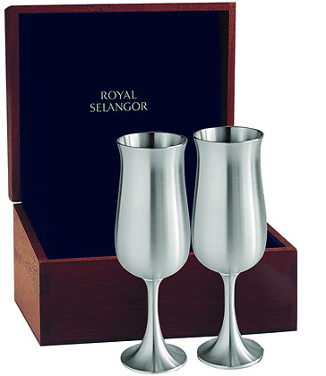 CHAMPAGNE FLUTES PAIR IN GIFT BOX- 12556G_