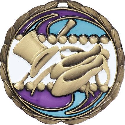 MS932G Dance Medal 70mm_