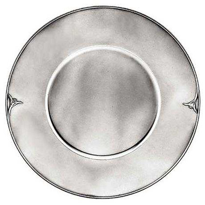 TULIP PLATE (ROUND) - 14445A_