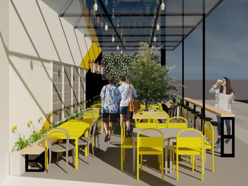 Massa na Caveira Mobiliário Urbano
