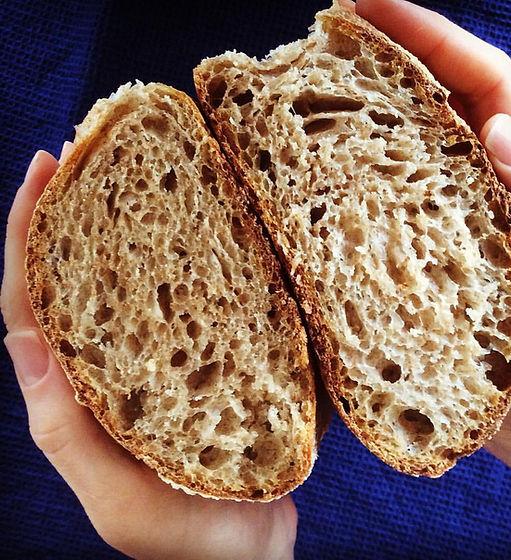 pão fermentação natural Vivi Lavratti Food Coach