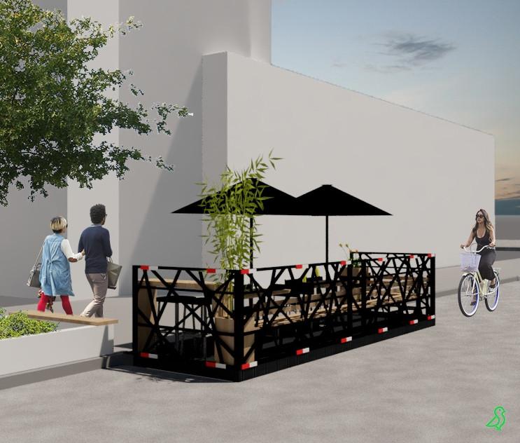 Parklet Maniva
