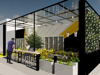 Mobiliário Urbano - Fachada