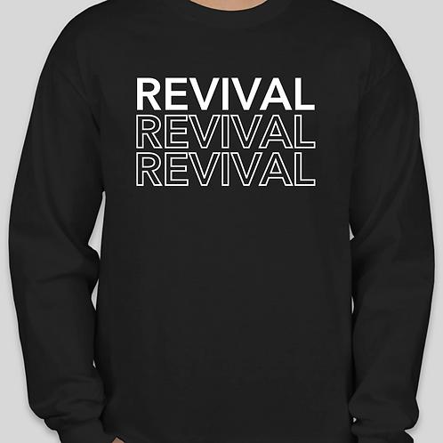 REVIVAL Logo Long Sleeve Shirt