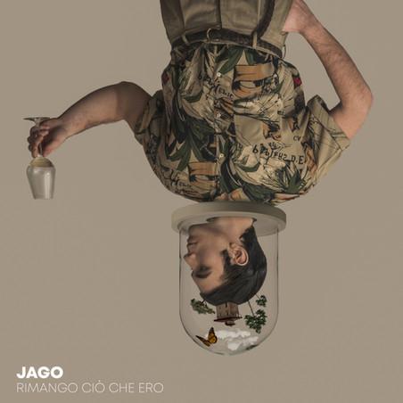 (Jago - Rimango ciò che ero) Official single cover
