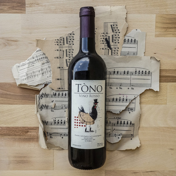 Wine label for Azienda Agricola Righi An