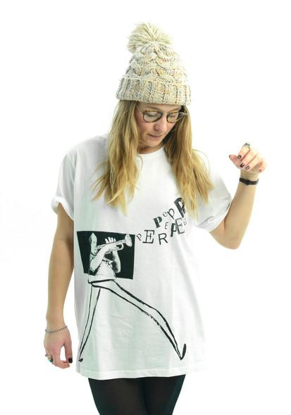 T-shirt Trumpeter Long legs